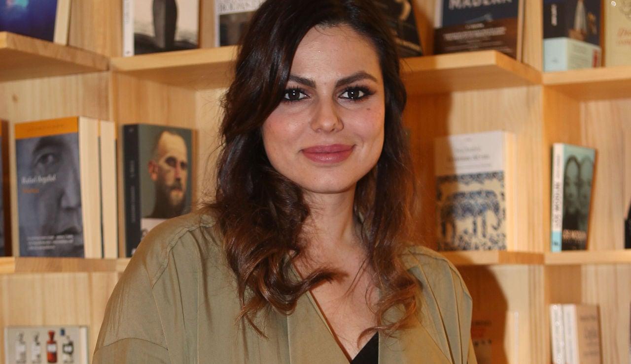 Marisa Jara en la presentación de su nuevo libro