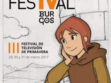 Cartel del FesTVal de Burgos