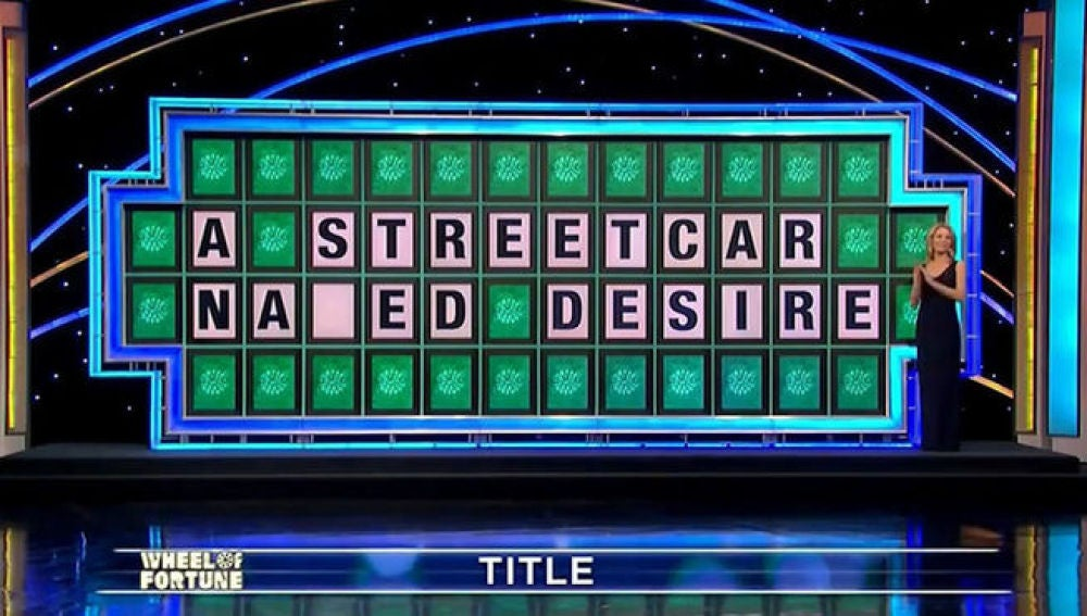 El panel de 'Wheel of Fortune'