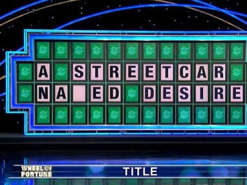El panel de 'Wheel of Fortune'