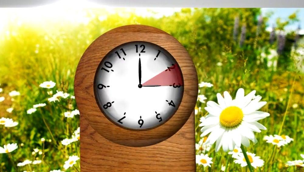 Frame 8.600479 de: ¿Cuándo se cambia la hora para dar paso al horario de verano?