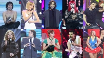 ¡Vota por la mejor actuación de la tercera gala de 'Tu cara no me suena todavía'!