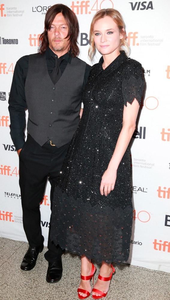 Diane Kruger y Norman Reedus