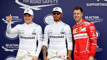 Lewis Hamilton, pole en el GP de Australia