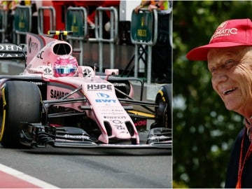 Niki Lauda se ríe del Force India