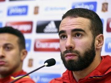 Dani Carvajal, jugador del Real Madrid