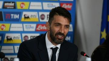 Buffon, con Italia