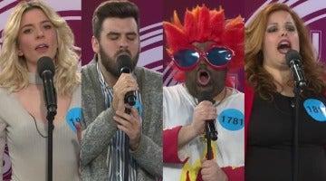 Imitaciones de la cuarta gala de 'Tu cara no me suena todavía'