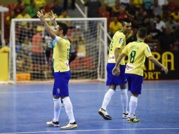 Falcao, en su despedida con la selección brasileña