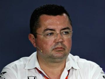 Eric Boullier, jefe de McLaren