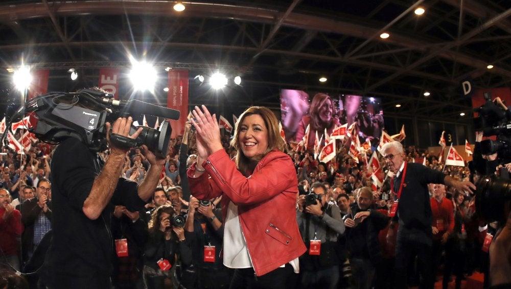 Susana Díaz anuncia su candidatura