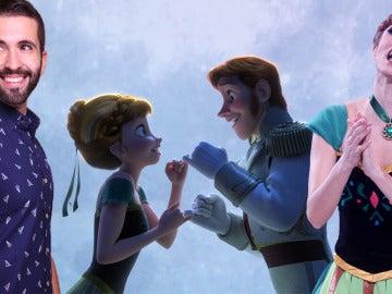 Keunam y Mary Porcar nos abren la puerta hacia el amor como Anna y Hans de Frozen
