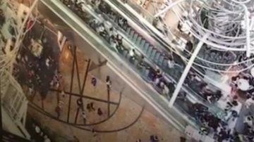 Escalera mecánica en Hong Kong