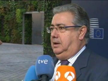 """Frame 0.0 de: Zoido insiste en que hay pocos yihadistas retornados a España y no se debe """"alertar a la población"""""""