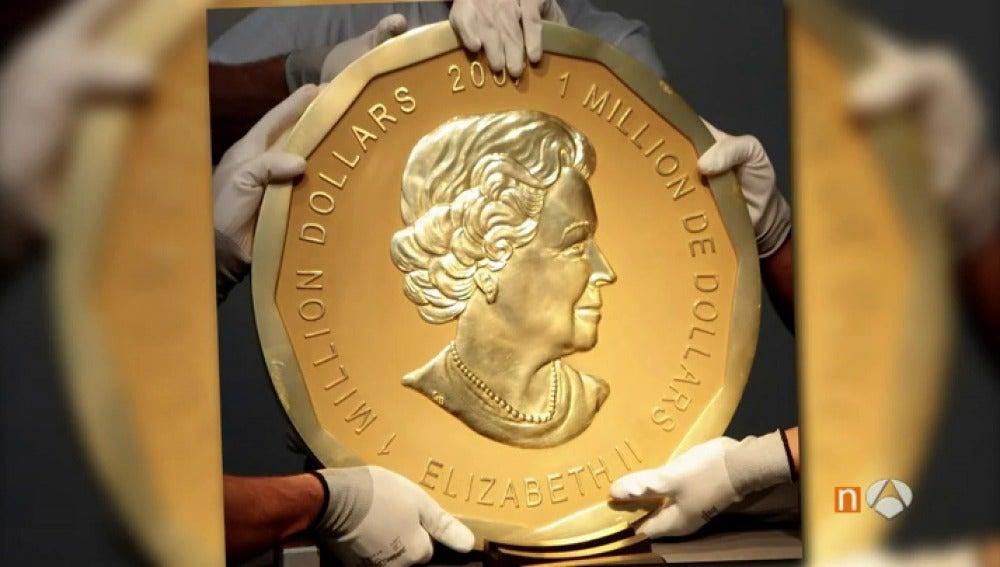 Frame 0.0 de: Roban la mayor moneda de oro del mundo, valorada en más de tres millones de euros, de un museo de Berlín