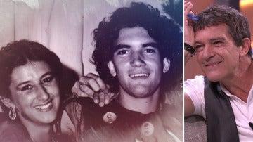"""Antonio Banderas, sobre su primer amor: """"Ella ha formado una parte muy importante de mi vida"""""""