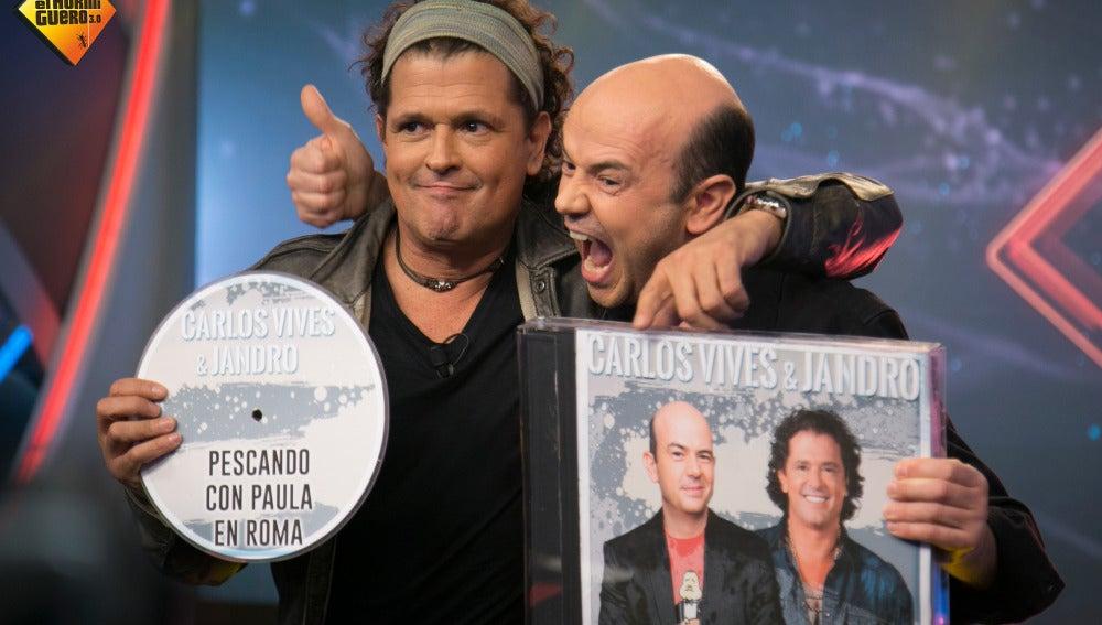 Jandro predice cómo será el nuevo disco de Carlos Vives