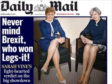 El Brexit no es cuestión de piernas
