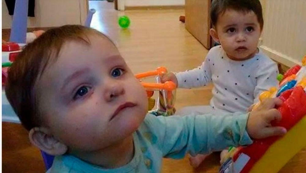 Gabriel y María, los mellizos víctimas del ataque