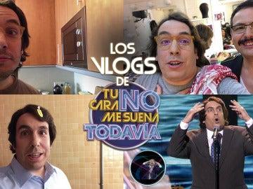 Gabriel Gutiérrez recorre el plató de 'Tu cara no me suena todavía' junto a sus compañeros