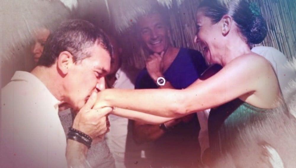 """Sara Baras: """"La primera conversación con Antonio Banderas fue de rodillas"""""""