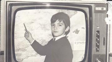 Así era Antonio Banderas con tan solo cuatro años