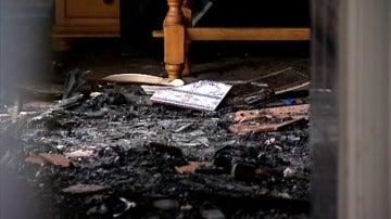Frame 71.857777 de: Muere una mujer en el incendio de una vivienda en Palos de la Frontera
