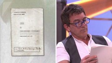 """Antonio Banderas sobre sus notas: """"Vamos a tener que esconderlo"""""""