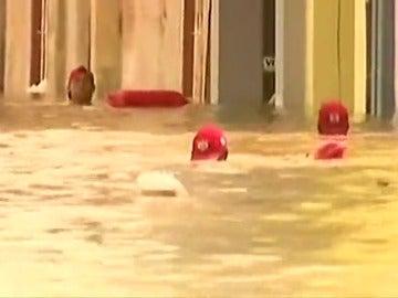 Frame 4.888 de: Las intensas lluvias e inundaciones registradas en el norte de Perú han provocado ya 91 muertos