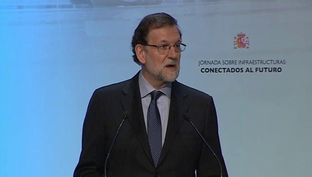 """Frame 7.55219 de: Rajoy anuncia una inversión """"viable y verificable"""" de 4.000 millones en Cataluña"""
