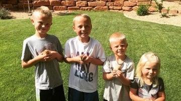 Los cuatro hijos de Jodie Norton