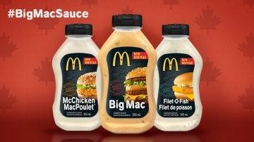 Las salsas de las hamburguesas de McDonalds, pronto a la venta