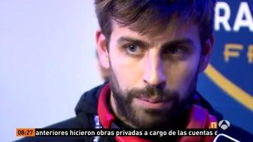 """Frame 19.883809 de: Piqué: """"No me gusta lo que se mueve en el palco del Real Madrid: imputaciones a Messi y Neymar, nada a Cristiano..."""""""