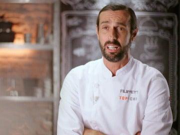 """Filippetti: """"Rakel, después de  'Top Chef' se hará actriz"""""""