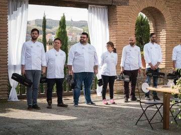 Los concursantes entrenan el paladar con las tres culturas de Toledo
