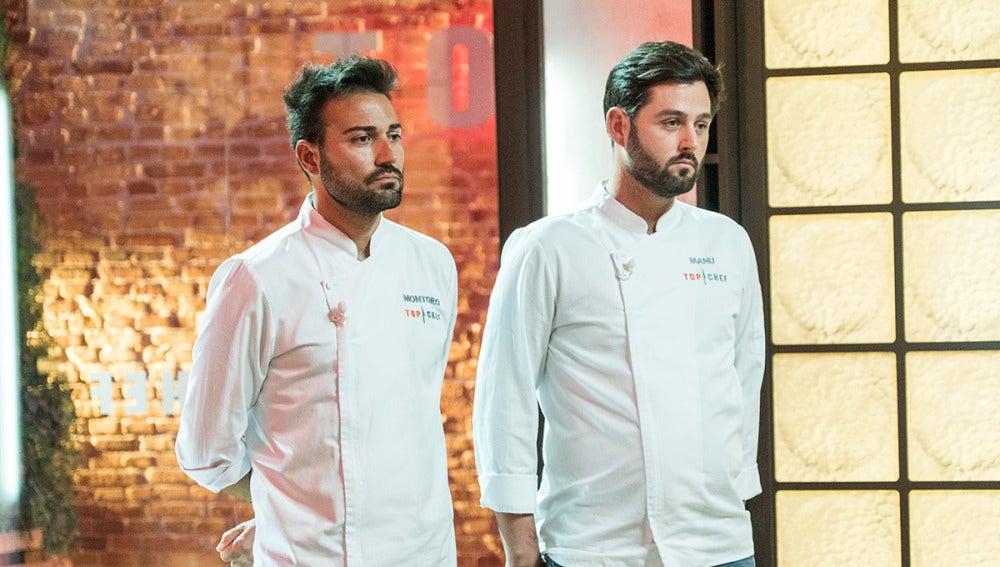Manu o Montoro, uno de ellos abandona 'Top Chef'