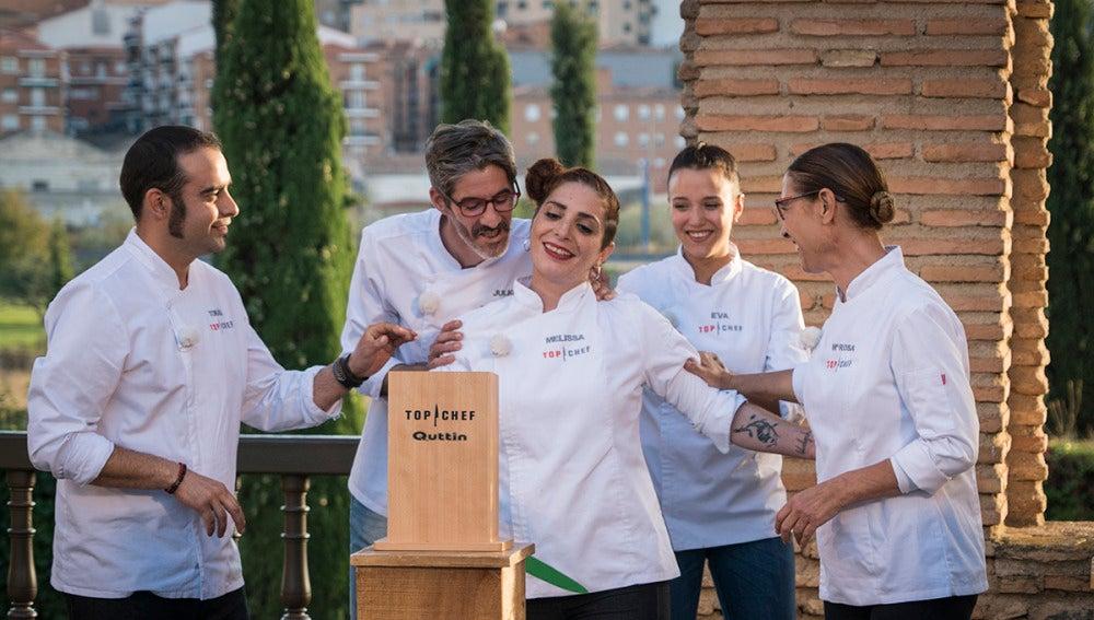 """Melissa vuelve a 'Top Chef' con un """"subidón"""""""