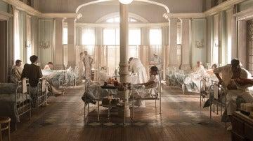Hospital de guerra de 'Tiempos de guerra'