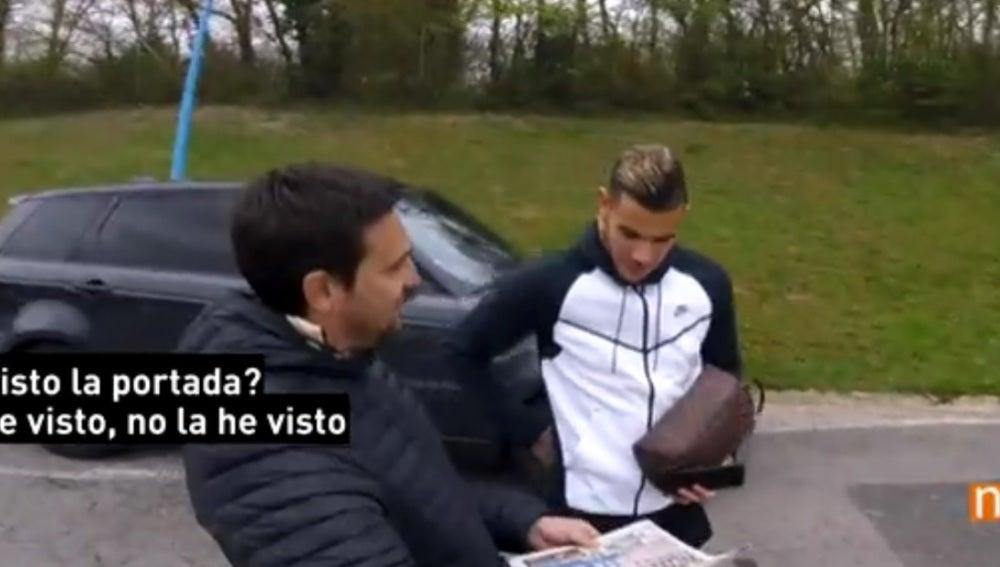 Theo Hernández, preguntado por el interés del Real Madrid