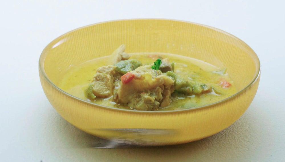 Guiso de pollo tradicional
