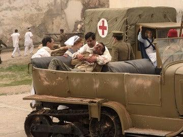 Primeras imágenes del rodaje de 'Tiempos de guerra'