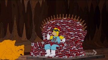 Cabecera 'Juego de Tronos' de 'Los Simpson'
