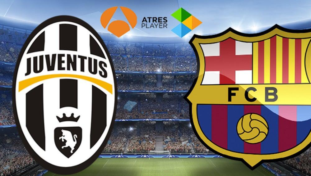 Juventus-Barcelona en Antena 3 y Atresplayer