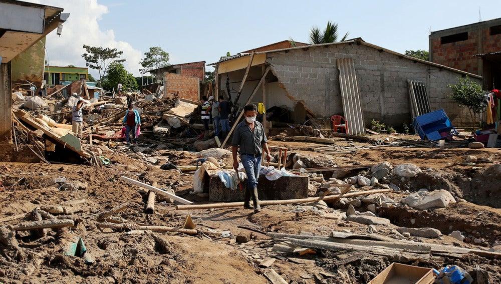 Efectos de las inundaciones en Colombia