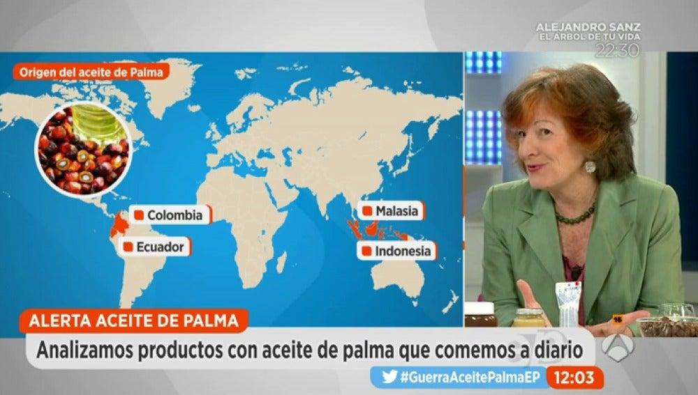 """Frame 156.394285 de:  """"Tomar aceite de Palma desde niño nos vuelve más proclives a sufrir ciertas enfermedades"""""""