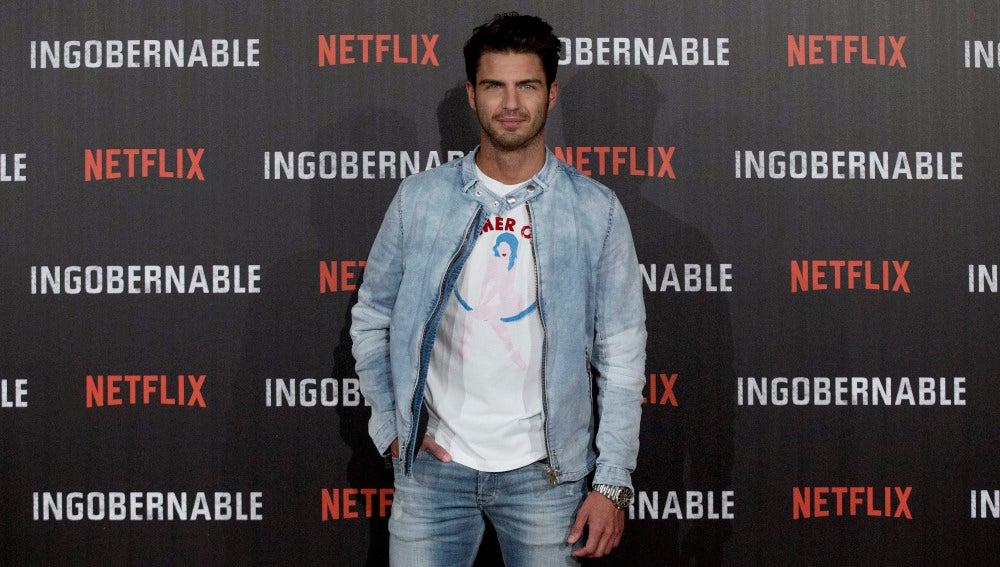 Maxi Iglesias en la presentación de 'Ingobernable'