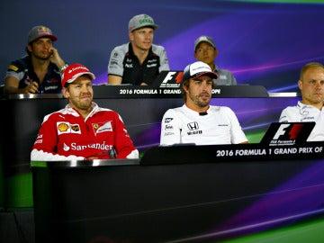 Rueda de prensa de la FIA