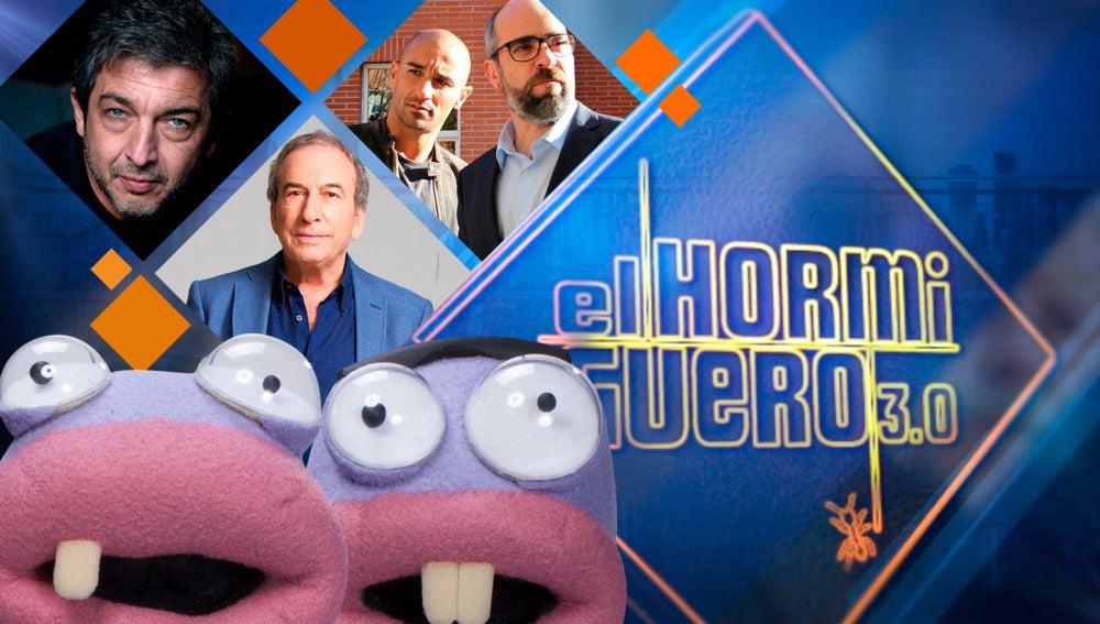 Los actores Ricardo Darín, Luis Tosar y Alain Hernández y el cantante José Luis Perales, amenizan la Semana Santa en 'El Hormiguero 3.0'