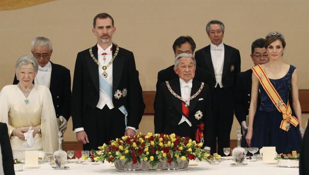 Los Reyes en Japón