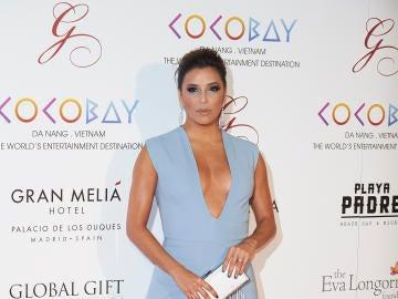 Eva Longoria, radiante en la Gala Global Gift